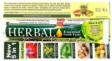 HERBAL ESSENTIAL TOOTHPASTE NEW 5 IN 1 FORMULA 6 PACK ORAL CARE TOOTHPASTE