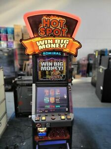 FRUIT MACHINE - HOT SPOT WITH 17 GAMES INCLUDING DEAL OR NO DEAL £100 JACKPOT