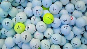 50 Golf Balls Titleist Srixon Callaway Nike TaylorMade Bridgestone Dunlop Wilson