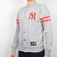 Majestic MLB New York Yankees Roper Fleece Letterman Jacket men MNY1428E2