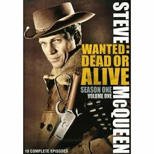 STEVE MCQUEEN - WANTED: DEAD OR ALIVE - SEASON 1, VOL 1 Dvd NEW