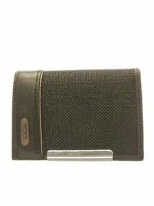 Tumi Gusseted Card Case Leather  Leather Black Fashion Card case From Japan