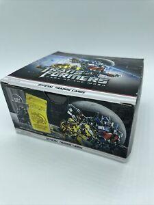 NIB Transformers: Dark of the Moon Box of 48 Trading Card Packs 288 Cards 2011
