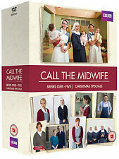 CALL THE MIDWIFE - Complete Series 1 2 3 4 5 + Xmas Special Boxset (NEW DVD)