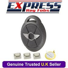 3 Button Remote Key Fob Case Service Repair Kit For BMW Mini One Cooper S EWS