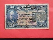 More details for albania 20 franka 1945  /gold/