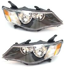MITSUBISHI Outlander 2006-2009 front head lamps lights for LHD Europe Pair