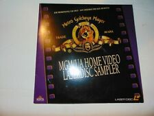 MGM/UA Home Video Laserdisc Sampler 1992 Rare For Promotional Use Only