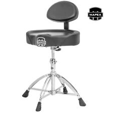 NEW Mapex T775 Saddle Seat Drum Set Throne w/ Back Rest