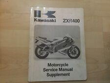 kawasaki zxr 400 zxr400 l1-l5 genuine workshop manual 99924-1140-52