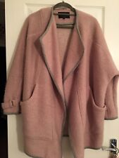 River Island Pink And Grey Coat Size 10