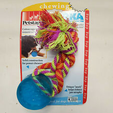 Petstages ORKA DENTAL PUCK Dog Puppy Toy Bounces