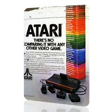 Metal Sign ATARI Classic Poster Video Game Console 2600 Gamers Rusted Decor Home