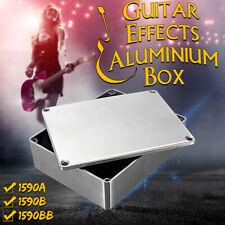 More details for aluminium metal stomp box case enclosure guitar effect pedal  1590a 1590b   > |