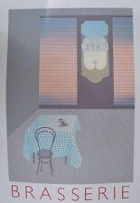 Perry King Brasserie póster imagen son impresiones artísticas 83x57cm-envío gratuito