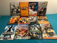 Bundle of 12 SONY PS2  game MANUALS