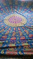 FUNKY HIPPY HAPPY BRIGHT COLOURFUL ETHNIC THROWS BEDCOVERS WALL HANGING SD116