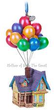 Disney Store Pixar UP House Balloons Sketchbook Ornament X-Mas 2017 New In Box