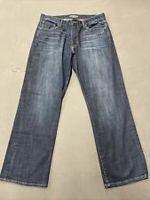 Lucky Brand Jeans 34x30 Mens 181 Blue Straight Leg Relaxed Fit Denim FS Charity