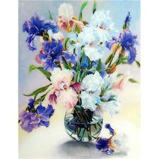 Flowers & Vase 5D Diamond Embroidery Painting Home Decor Craft Cross