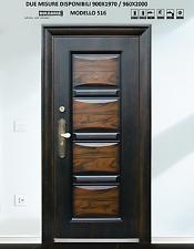 Porta BLINDATA Portone in metallo da Esterno per casa appartamento condominio