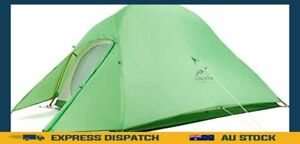 Premium Cloud-Up 2 Person Backpacking Camping Tent Lightweight Outdoor Tents
