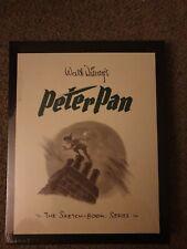 More details for walt disney peter pan sketchbook art work limited edition extremely rare