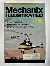 Mechanix  Illustrated -MAY 1971  ISSUE - ROAD TEST OF 1971 PONTIAC VENTURA