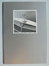 Prospekt Mercedes-Benz für USA: Modelle, Historie, Rennsport, 1971, 24 Seiten