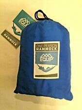 Backpacking Hammock  - 3 Color Choices - One Person - 400# Capacity -