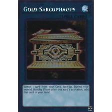 Gold Sarcophagus - NKRT-EN041 - Platinum Rare - Limited