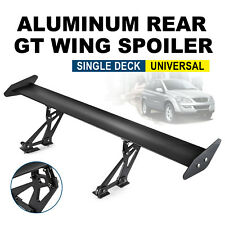 New Universal Sedan Adjustable Aluminum GT Rear Trunk Wing Racing Spoiler
