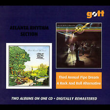 Atlanta Rhythm Section- Third Annual Pipe Dream/ A Rock And Roll Alternative. CD