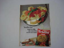 advertising Pubblicità 1980 TORTELLINI STAR