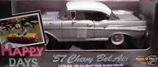 1957 Chevy Belair Silver Happy Days 1:18 Ertl American Muscle 33031