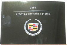 GM 2005 Cadillac CTS Navigation Manual #25769280B