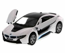 Kinsmart BMW i8 2 Door Coupe 1:36 Diecast Model Toy Car Pull Action New- WHITE