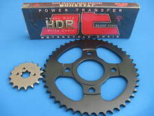 YAMAHA RD125 LC  HEAVY DUTY CHAIN AND SPROCKET KIT SET   1982 - 1985