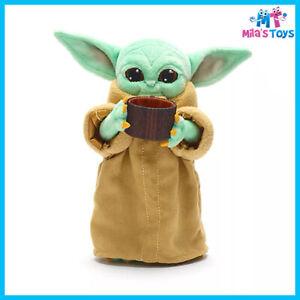 Disney Store The Child with Cup Mini Bean Bag - Star Wars Mandalorian