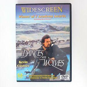 Dances With Wolves Movie DVD Region 4 AUS - Drama