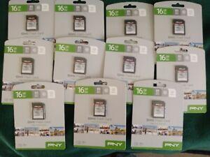 PNY SD CARD GB HIGH PERFORMANCE CLASS 10 SD CAND P-SDHC16GU1GW-GE FLASH CAMERA