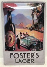 Foster's Lager Beer Bar Pub Drinking Tin Metal Sign New Vintage Style