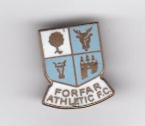 Forfar Athletic - lapel badge No.2 brooch fitting