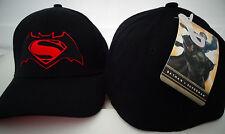 Batman Vs Superman Movie Dawn of Justice DC Comics Flex Back Hat
