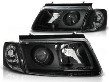 HEADLIGHTS RHD LHD  LPVW37 VW PASSAT B5 3B 1996 1997 1998 1999 2000 BLACK