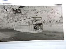 "STC Orig 1949 Scranton PA Wilkes-Barre 4"" trolley photo negative Dunmore"