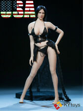"""1/6 Fantasy Love Sexy Role Play Lingerie Dress For 12"""" Phicen Kumik Figure ❶USA❶"""