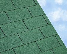 Felt Roofing Shingles | Shed Felt Roof Shingles | GREEN RECTANGULAR TAB 3SQM