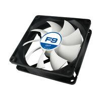 Arctic Cooling F9 92mm 90mm 3 Pin Case Fan, 1800 RPM, 43 CFM Airflow