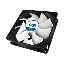 3 x Arctic Cooling F9 92mm Case Fans 1800 RPM (AFACO-09000-GBA01) AC Artic